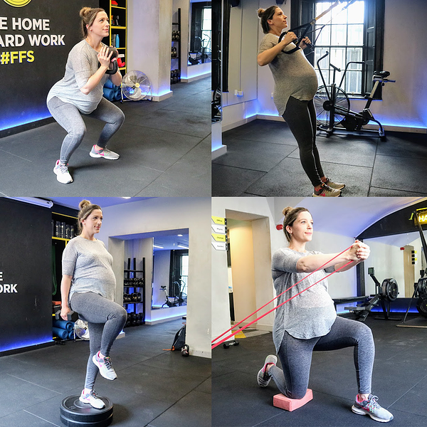 Pregnancy Training Collage