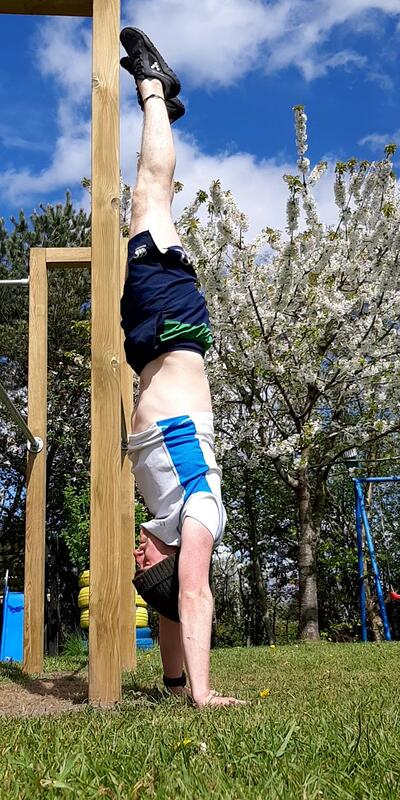 Wall Handstand (2)